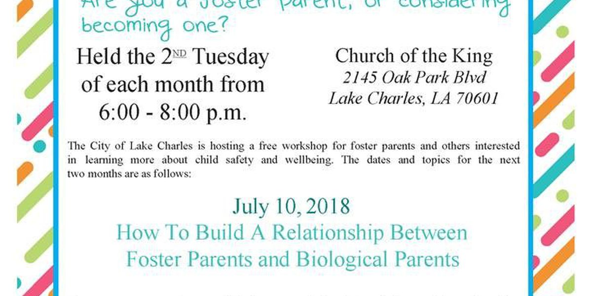 Lake Charles to host workshop on child safety and well-being