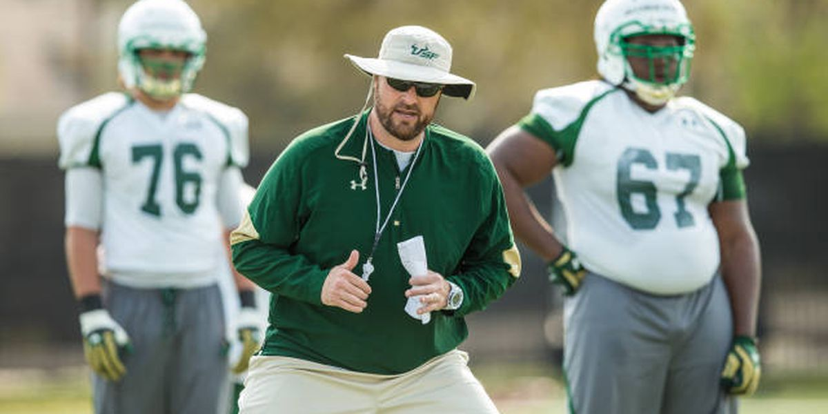 USF offensive line coach Matt Mattox to be next McNeese offensive coordinator