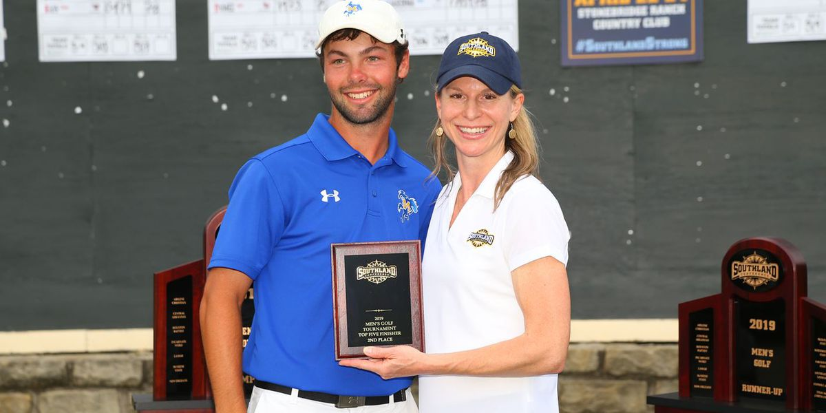 Elliott finishes 2nd, McNeese 6th at SLC Men's Golf Championships