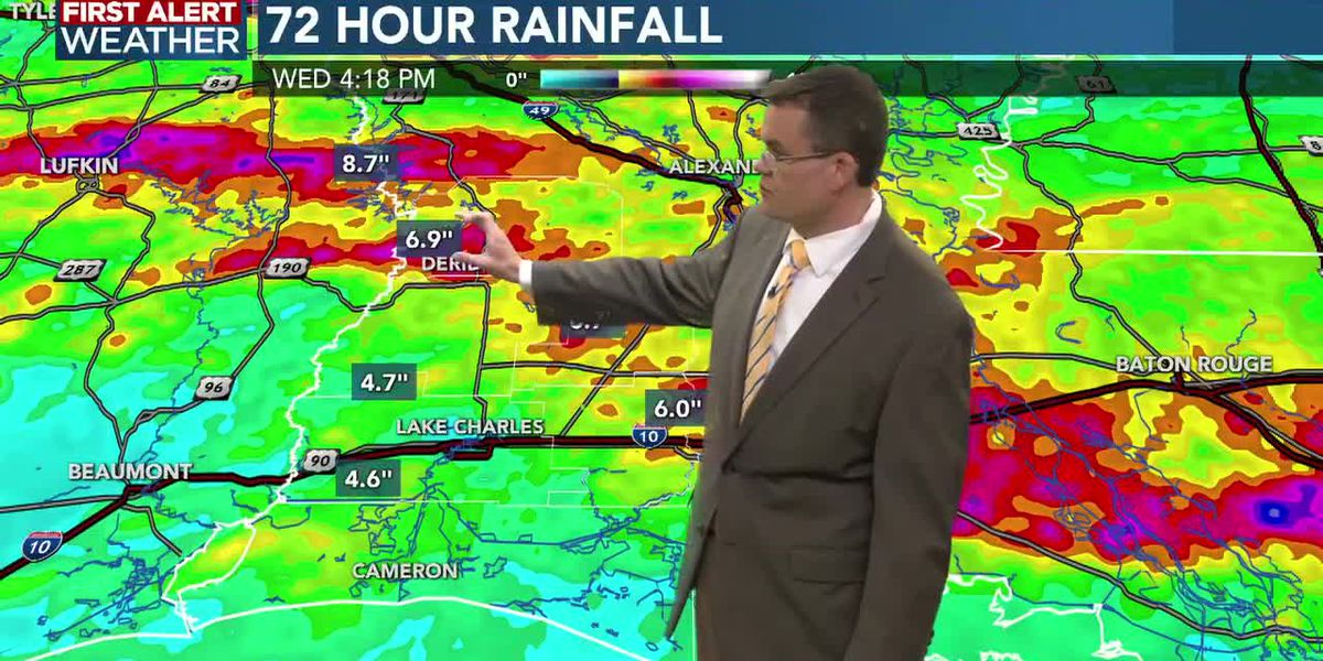 FIRST ALERT FORECAST: Improving weather; beautiful through Saturday and then more rain