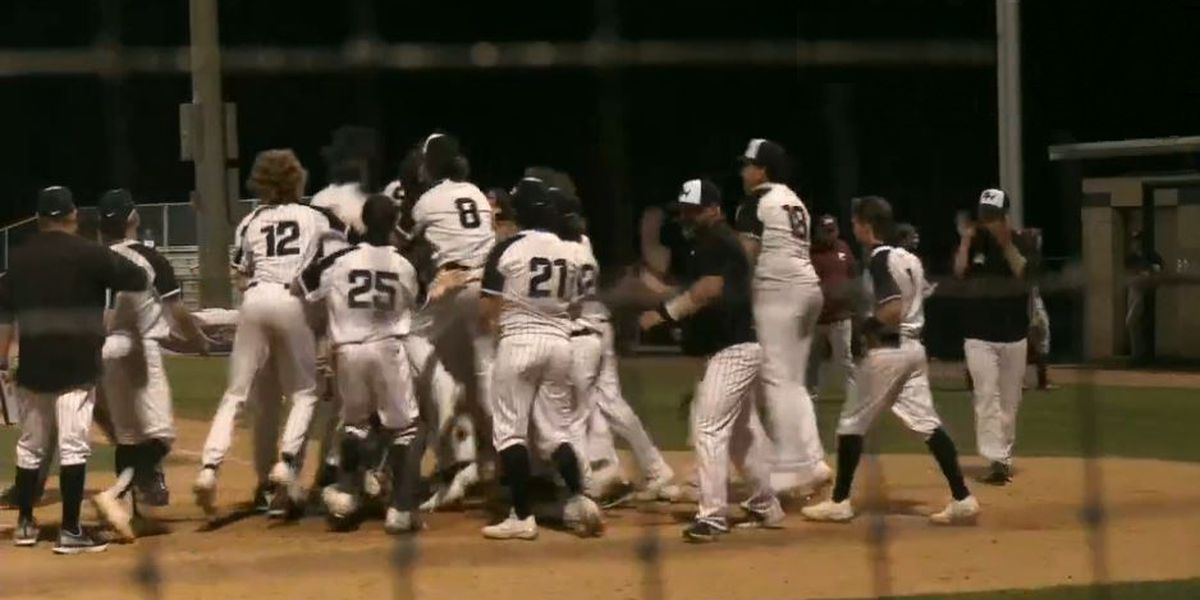 Glass' walk-off homer vs. Pineville keeps Sam Houston undefeated, 3-2