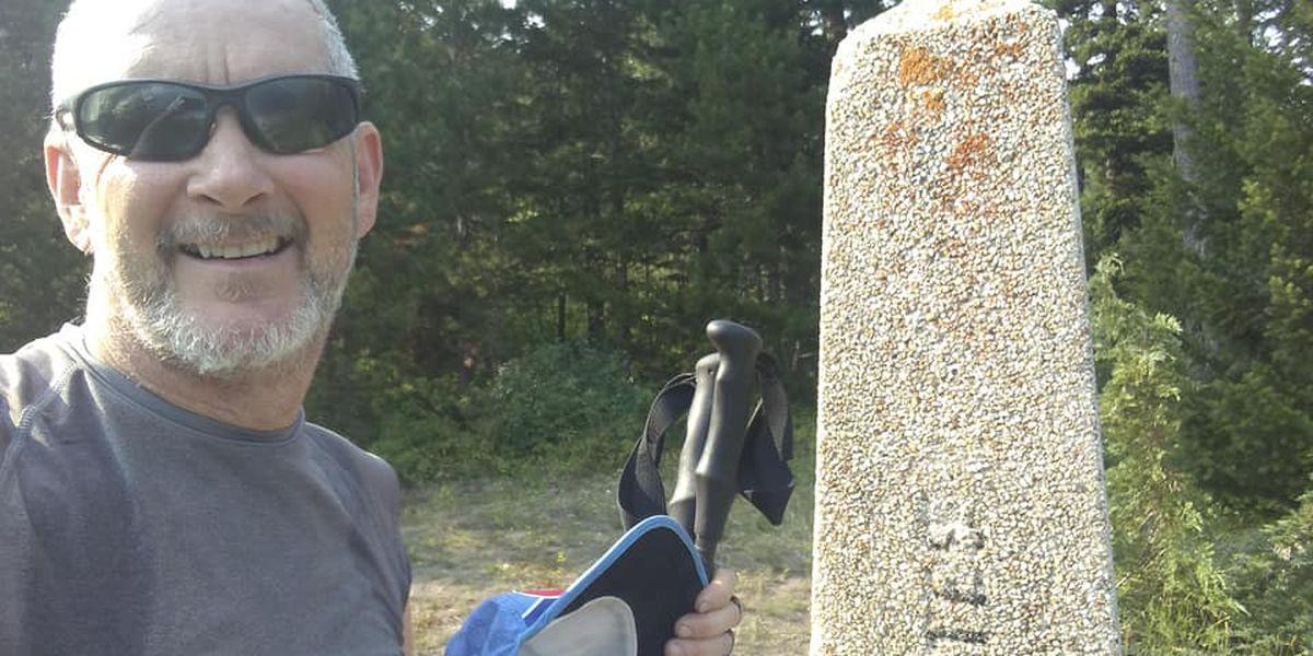Sulphur man finishes hiking's Triple Crown