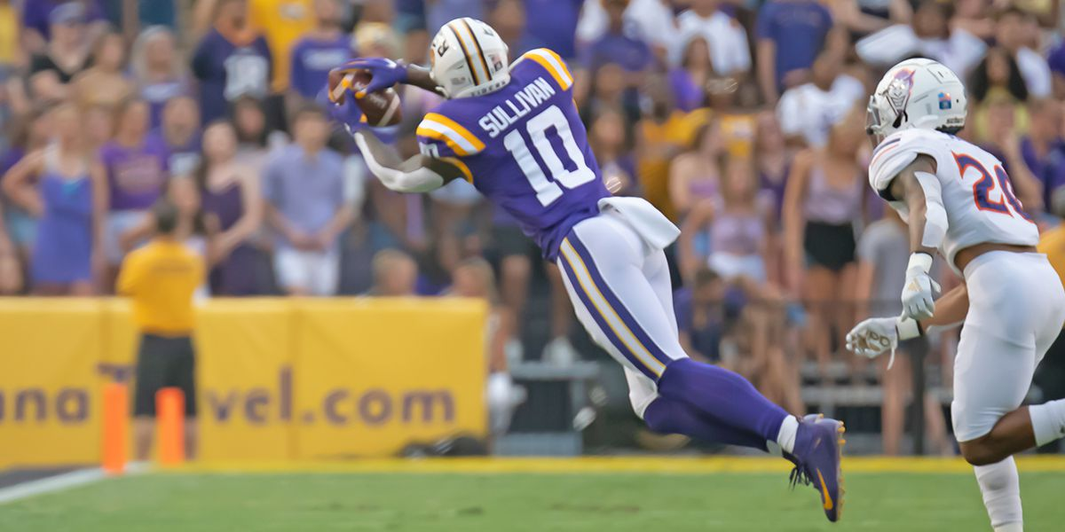 2020 NFL DRAFT: LSU TE Stephen Sullivan picked in 7th round (No. 251 overall) by Seattle Seahawks