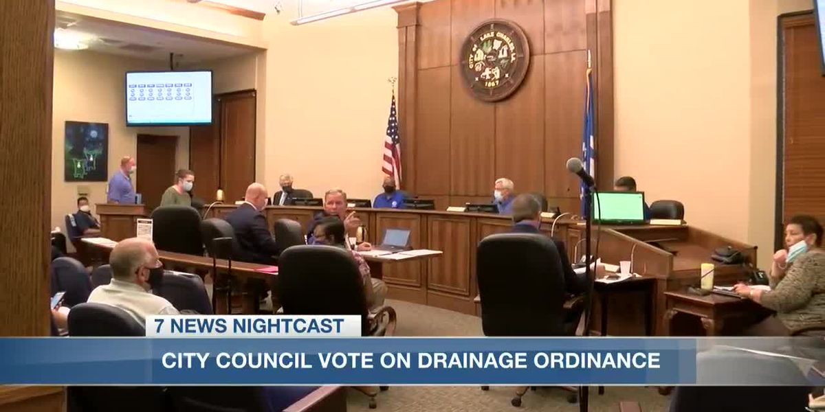 Lake Charles City Council adopts new drainage ordinance