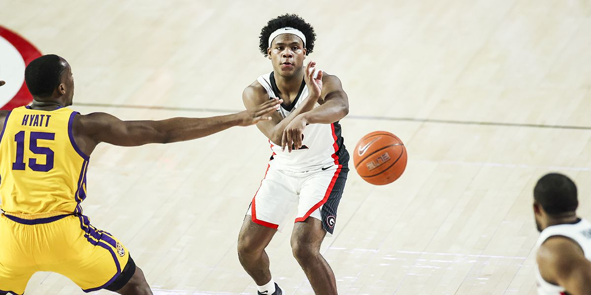 LSU struggles defensively in 91-78 loss at Georgia