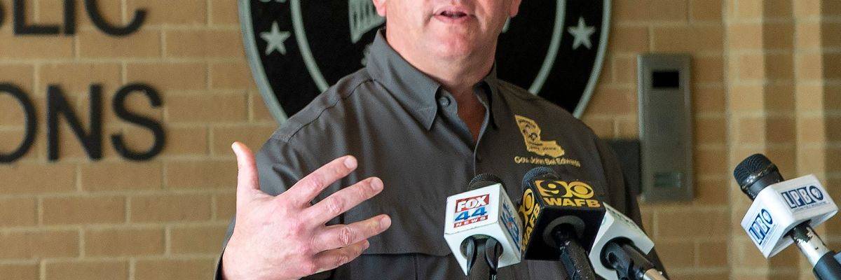 Gov. Edwards urges southeast La. to prepare for winds from Zeta; lawsuit filed in defense of public health emergency