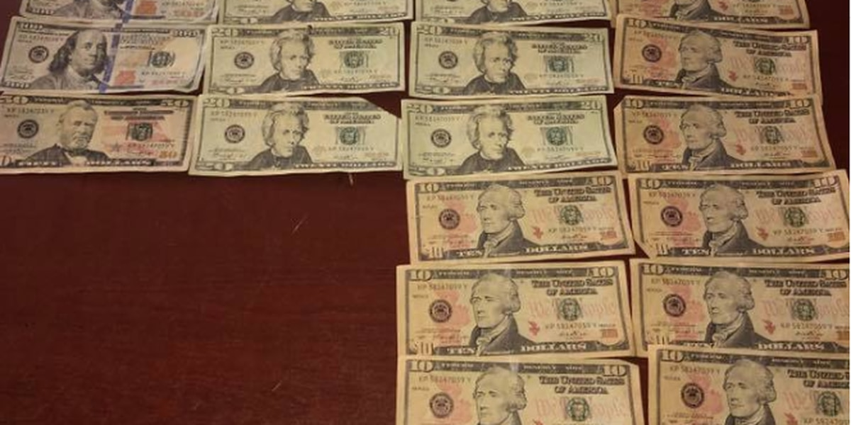 Lake Arthur Police find hundreds in counterfeit money, warns businesses