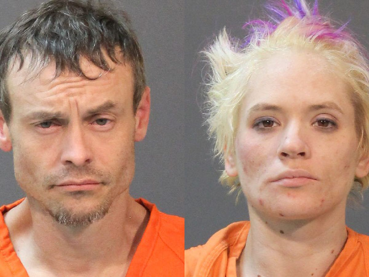 Officials: Two arrested after officer stopping to help them finds drugs in their vehicle