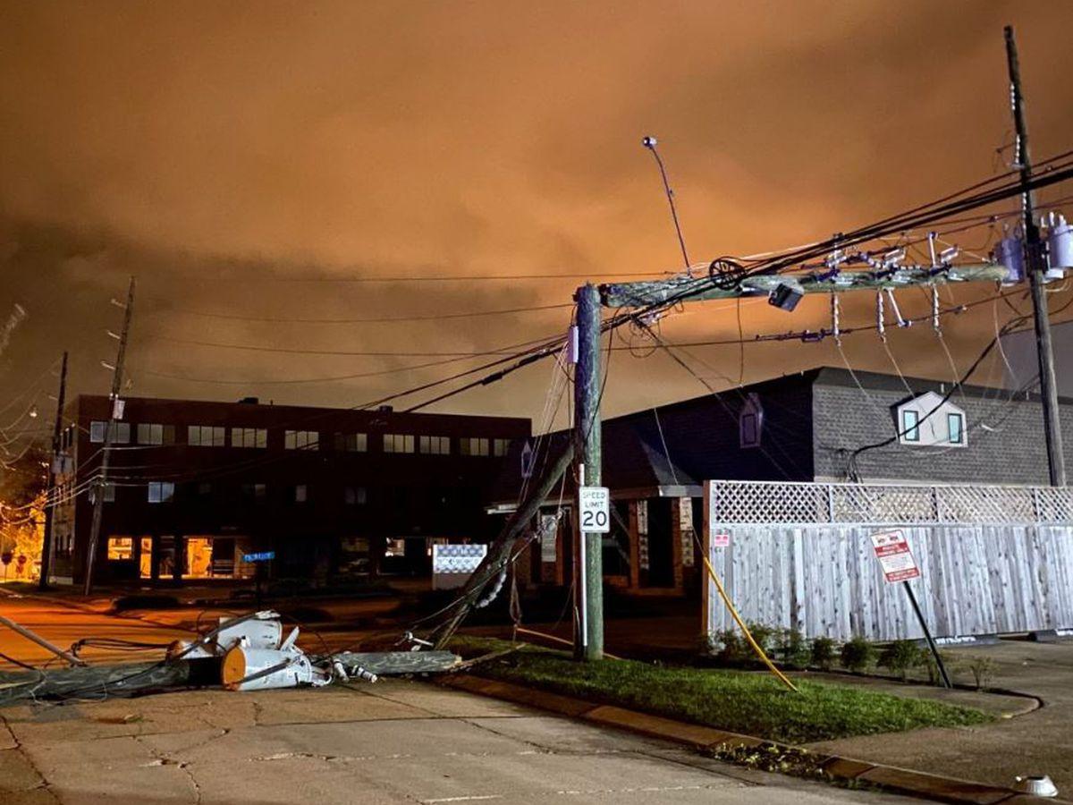 Gov. Edwards to discuss, tour Hurricane Zeta damage