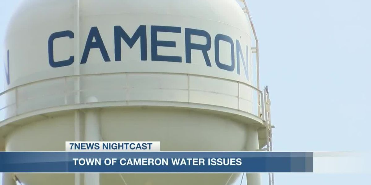 Town of Cameron dealing with water supply issues