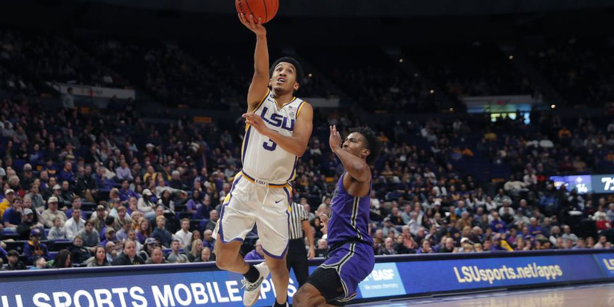 LSU hands nationally-ranked Furman their first loss of the season