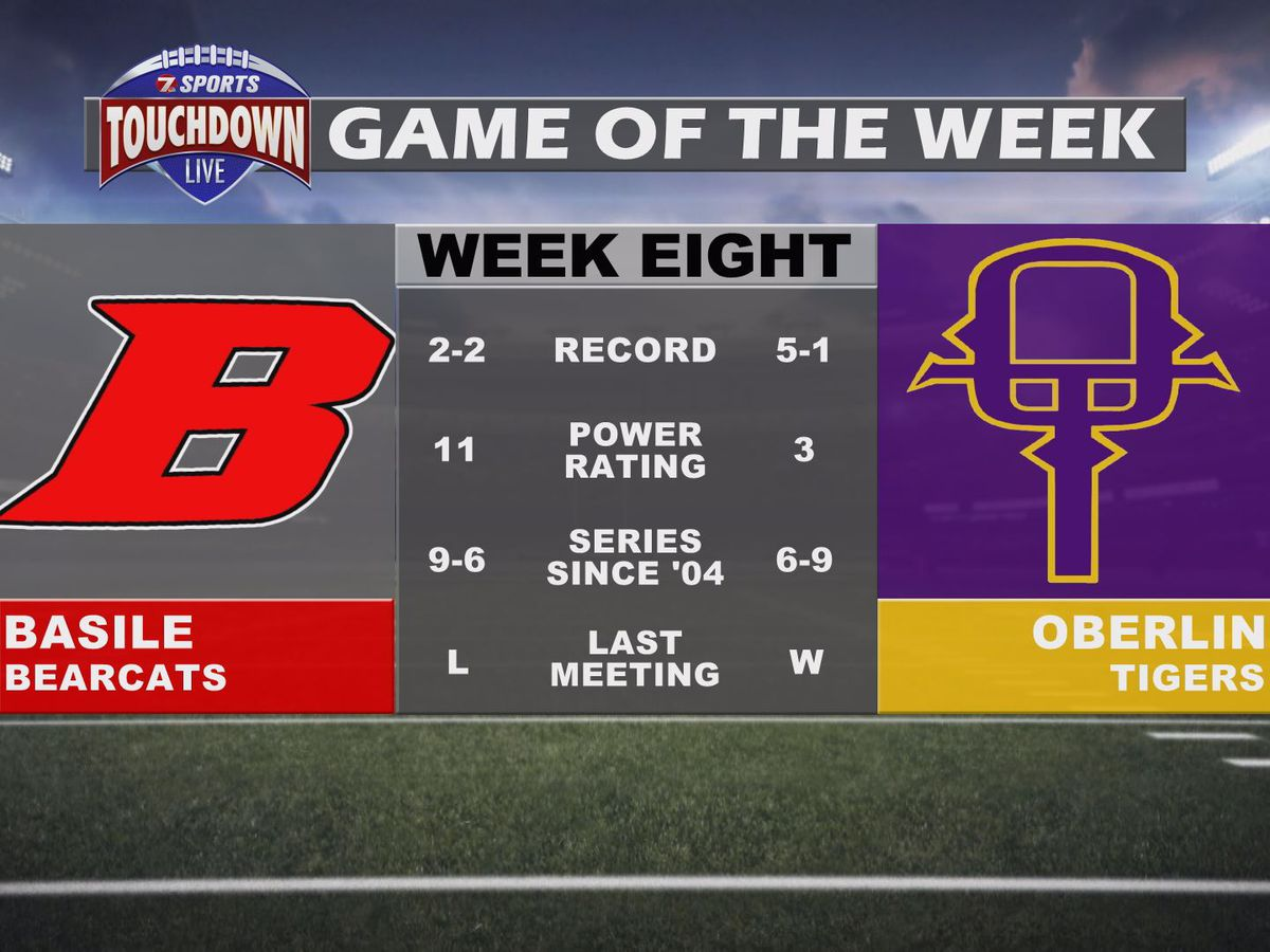 Basile at Oberlin named week eight TDL Game of the Week