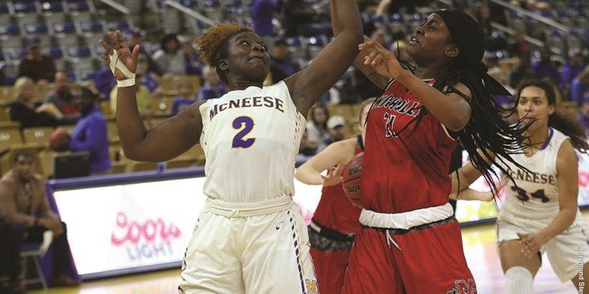 Bre'Ashlee Jones records second straight double-double in McNeese's loss at SFA