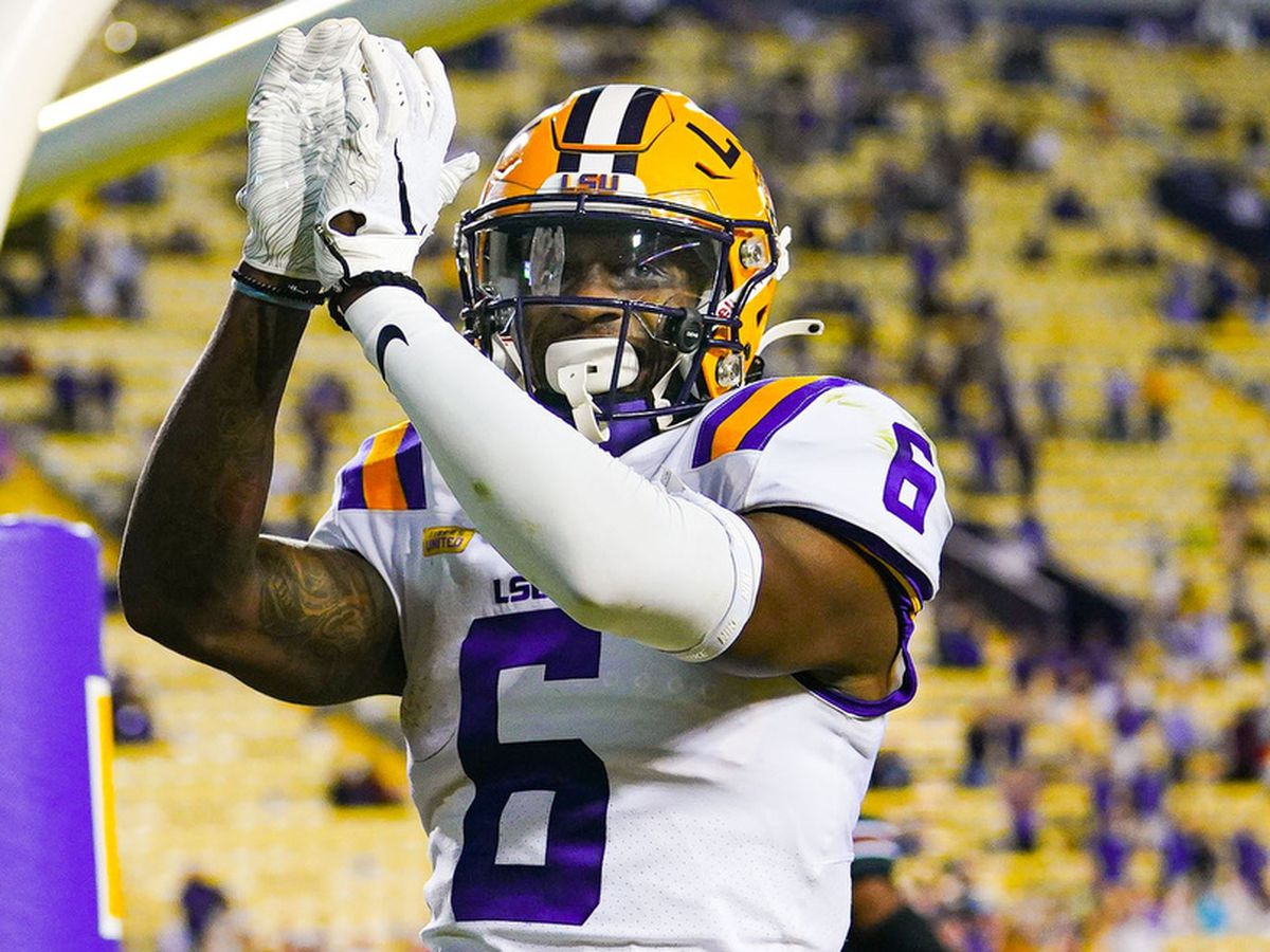LSU WR Terrace Marshall Jr. confirms he's opting out of the 2020 season; declares for 2021 NFL Draft