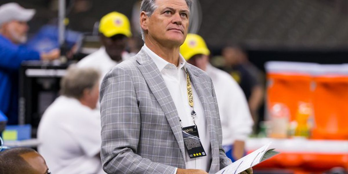 Saints GM Mickey Loomis supports delaying NFL Draft