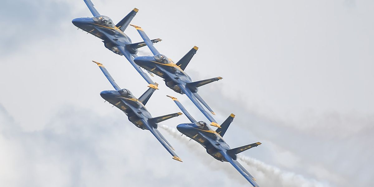Blue Angels coming to Lake Charles for 2021 Chennault International Airshow