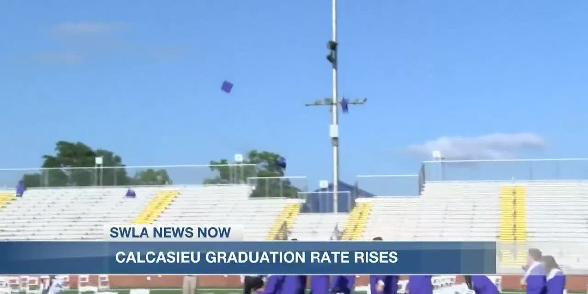 Calcasieu graduation rate rises
