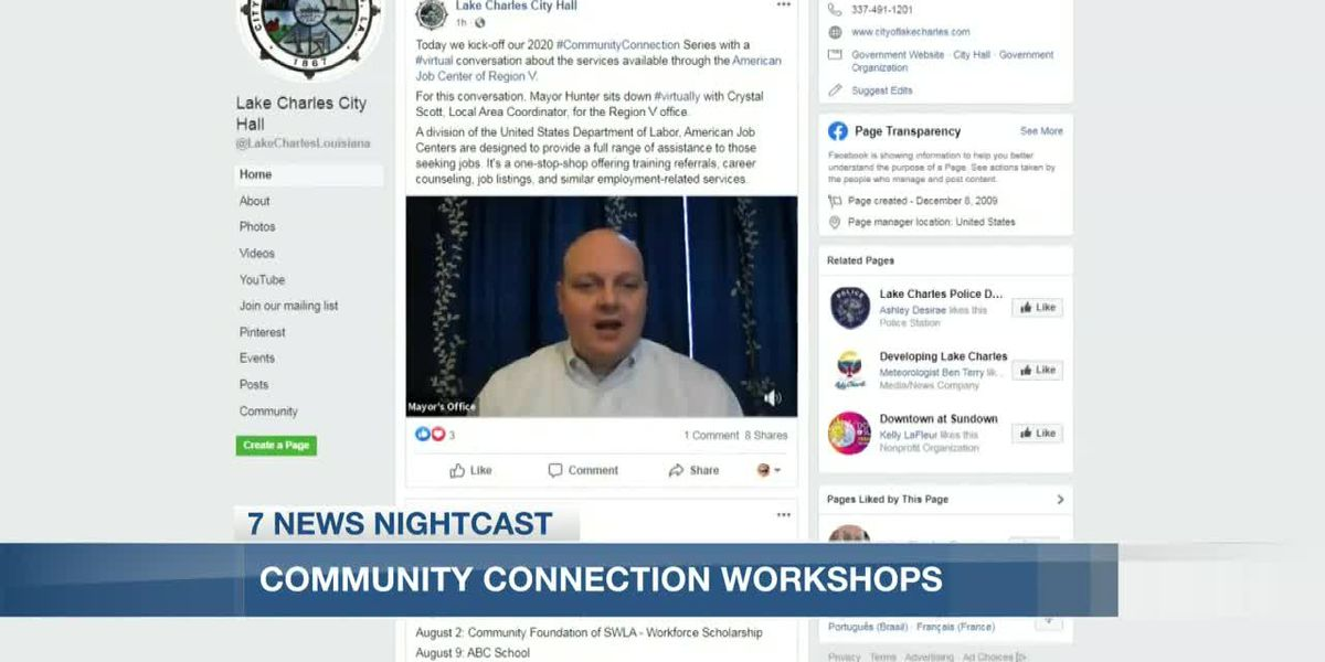 Community Connections Workshop goes virtual