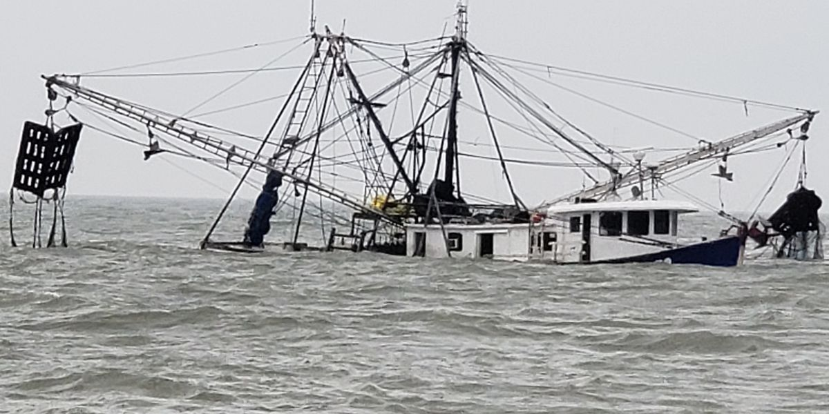 LDWF agent and Cameron deputy perform rescue of three in Gulf of Mexico