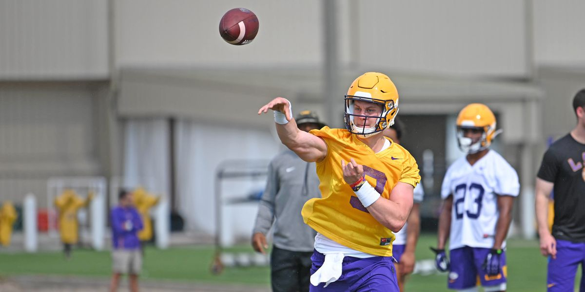 LSU holds first practice of fall camp
