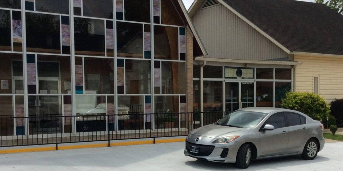 Jennings funeral home installs drive-thru viewing option