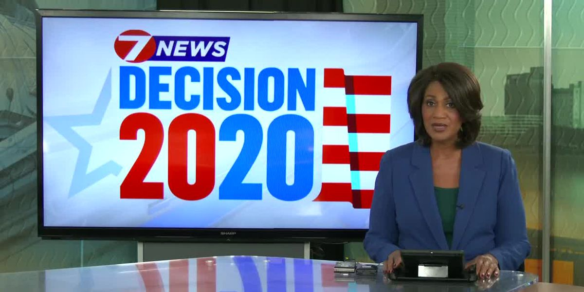 Election night cut-in from 7:56 p.m.