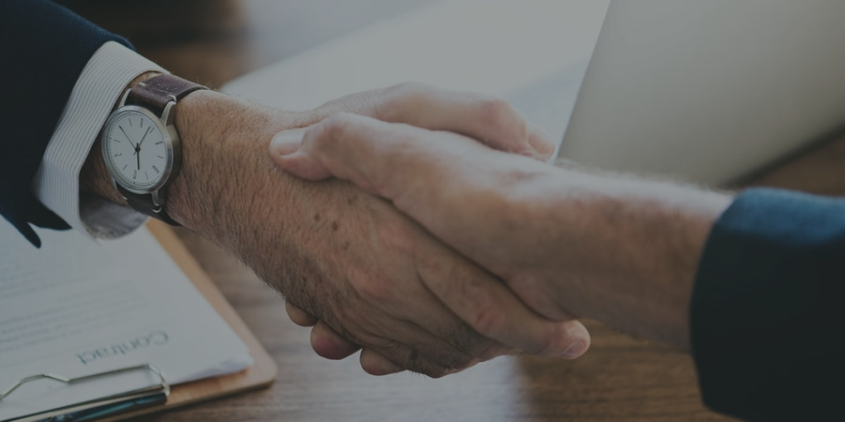 A strong handshake could mean a healthy heart