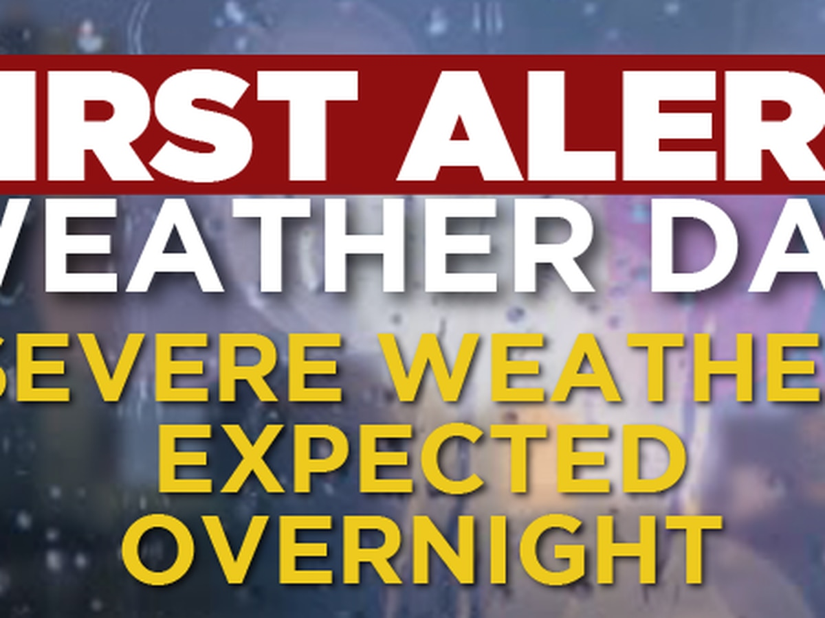 FIRST ALERT FORECAST: Clouds return today, then we brace for strong storms late tonight
