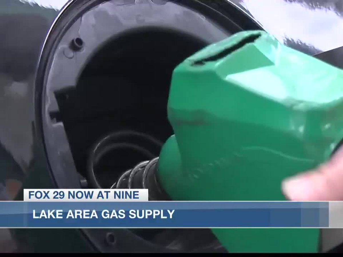 Gasoline supply in Lake Charles following Colonial Pipeline shutdown