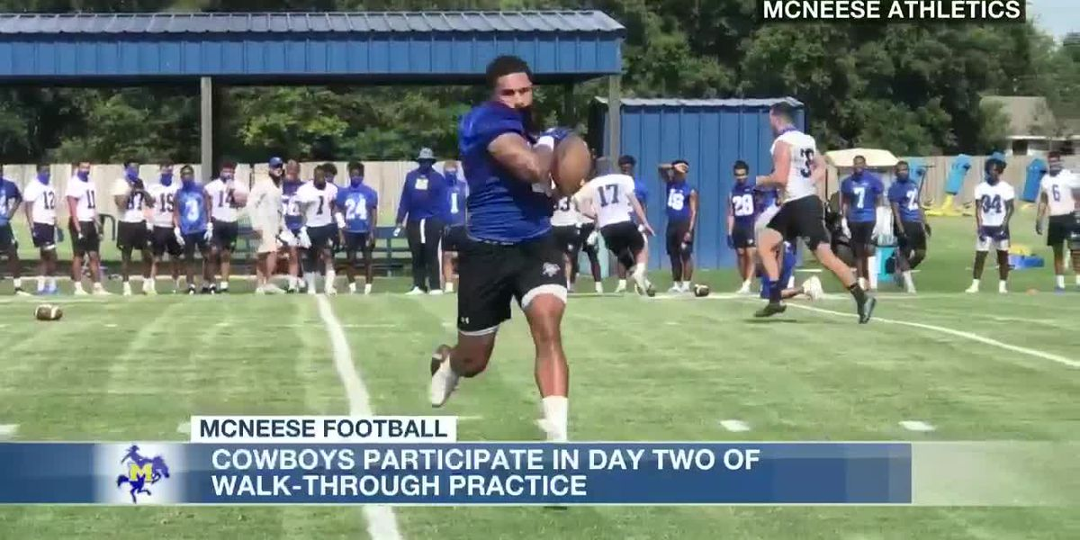 McNeese coach Frank Wilson on depth chart: It's 'etched in sand and it is forever revolving'