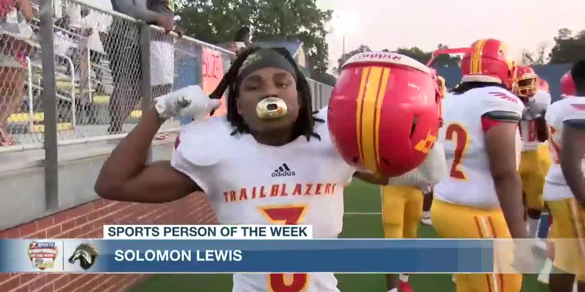 Sports Person of the Week - Solomon Lewis