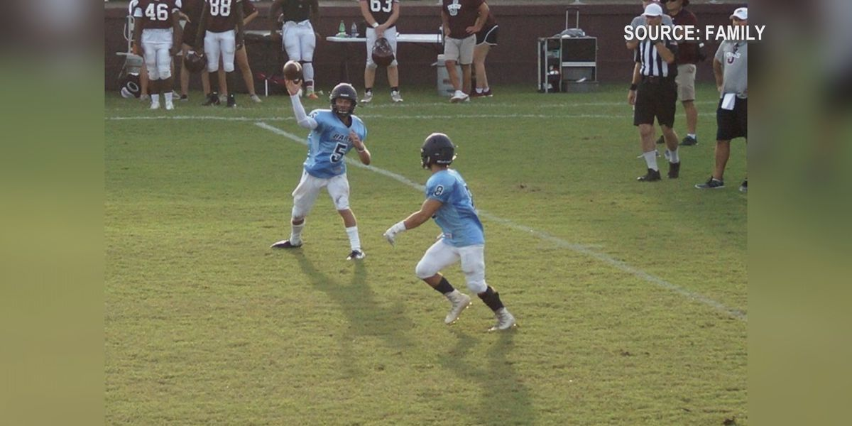 Barbe running back makes recovery after devastating knee injury