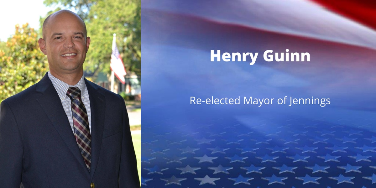Henry Guinn re-elected as Jennings Mayor, 3 named to city council