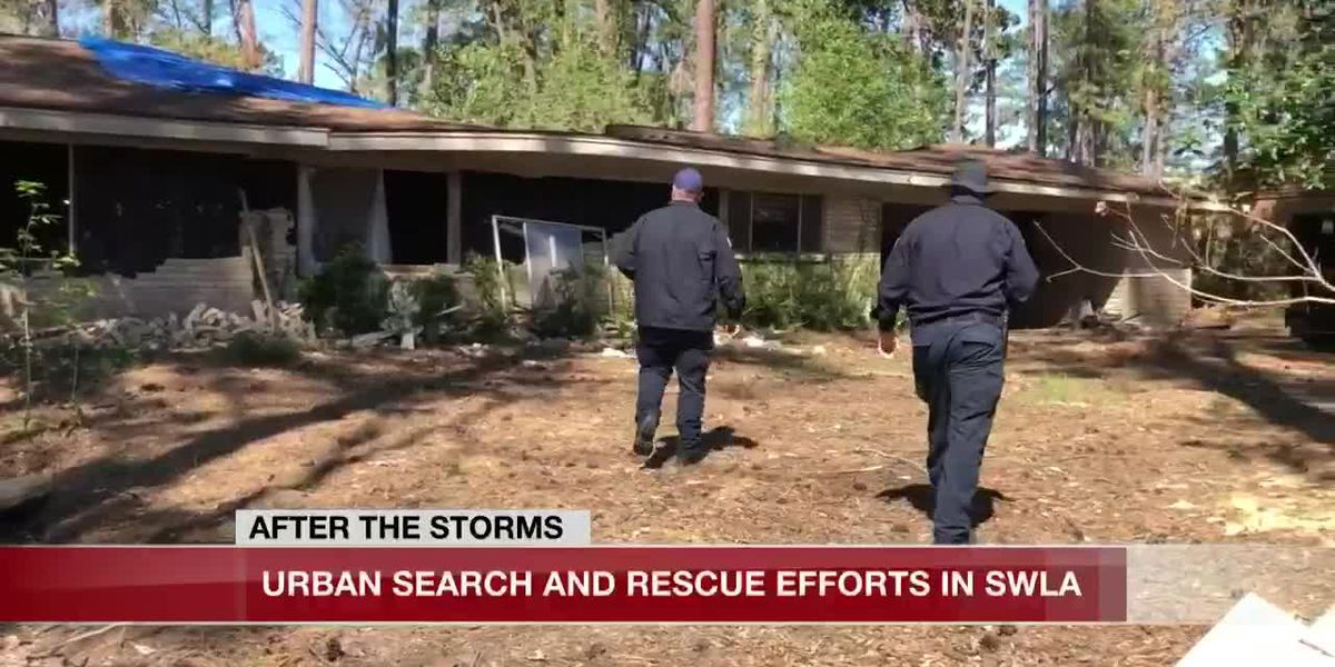 Urban Search and Rescue teams help Southwest Louisiana