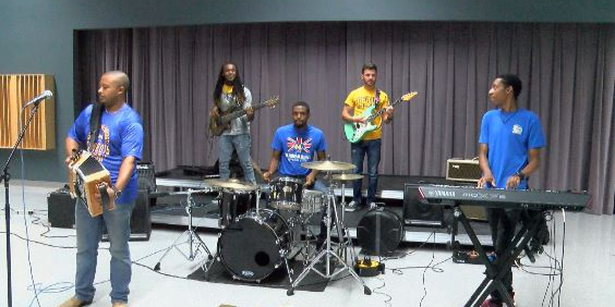 McNeese State University debuts Zyde-Pokes band