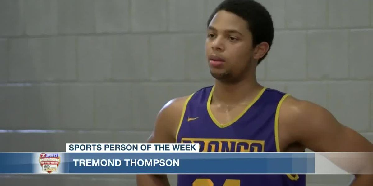 Sports Person of the Week - Tremond Thompson