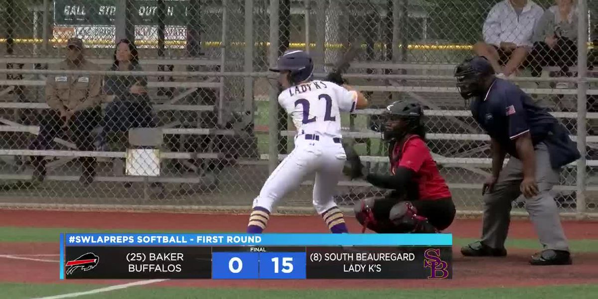 #Swlapreps softball first round highlights