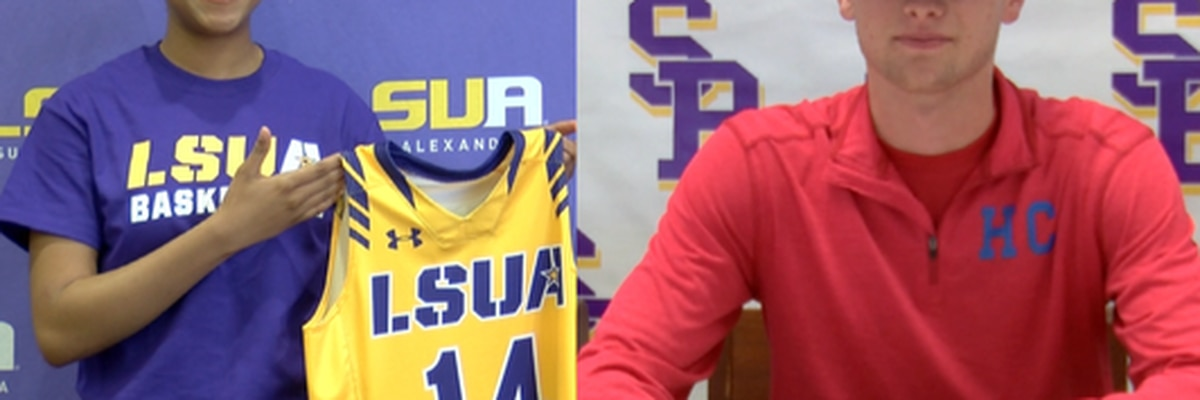 Pair of local athletes sign NLI's on Wednesday