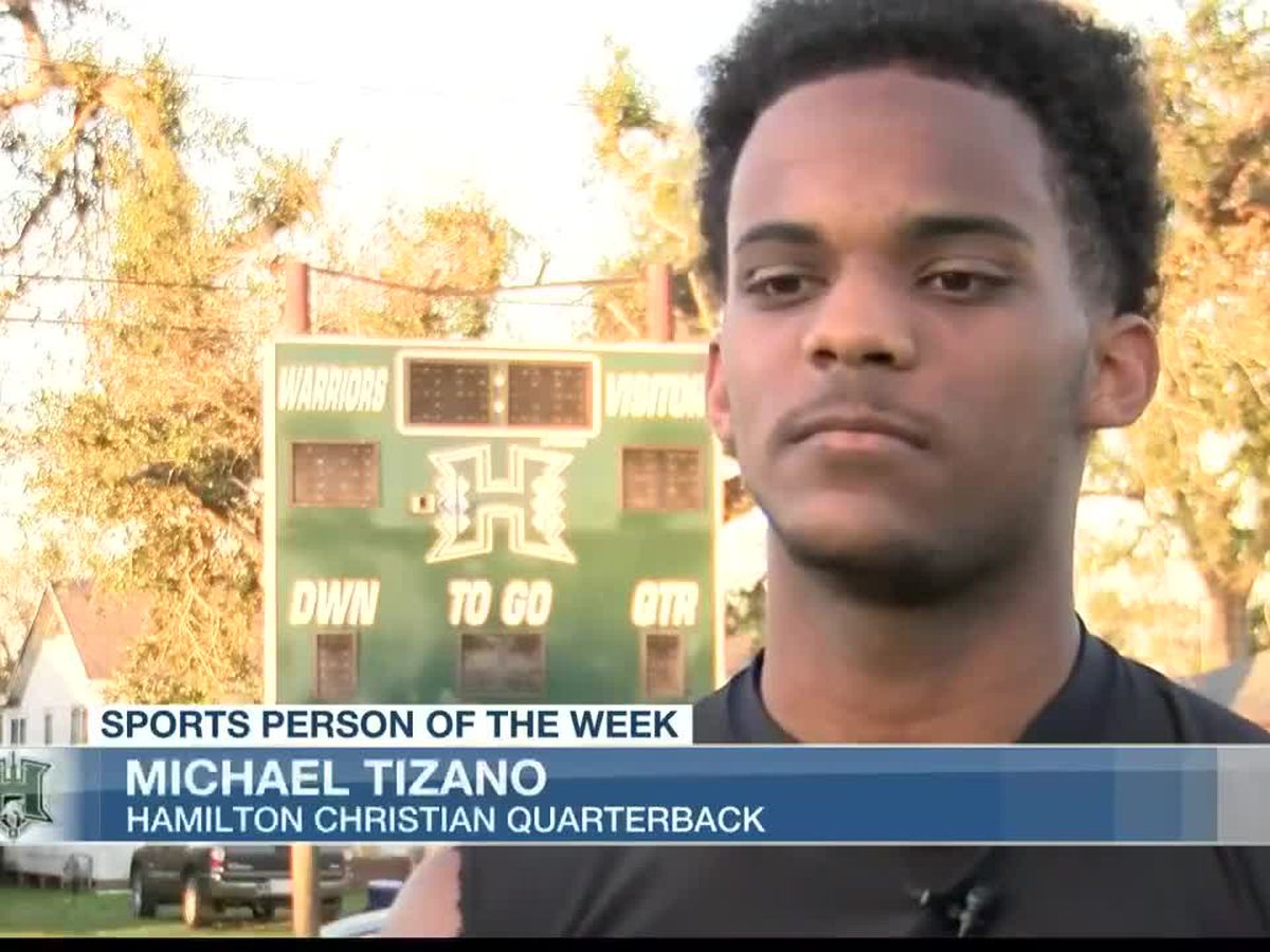 Sports Person of the Week - Michael Tizano