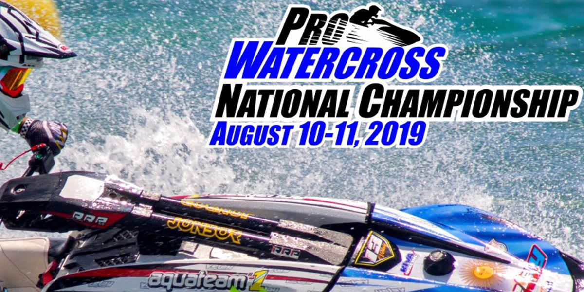 Pro Watercross National Championships this weekend