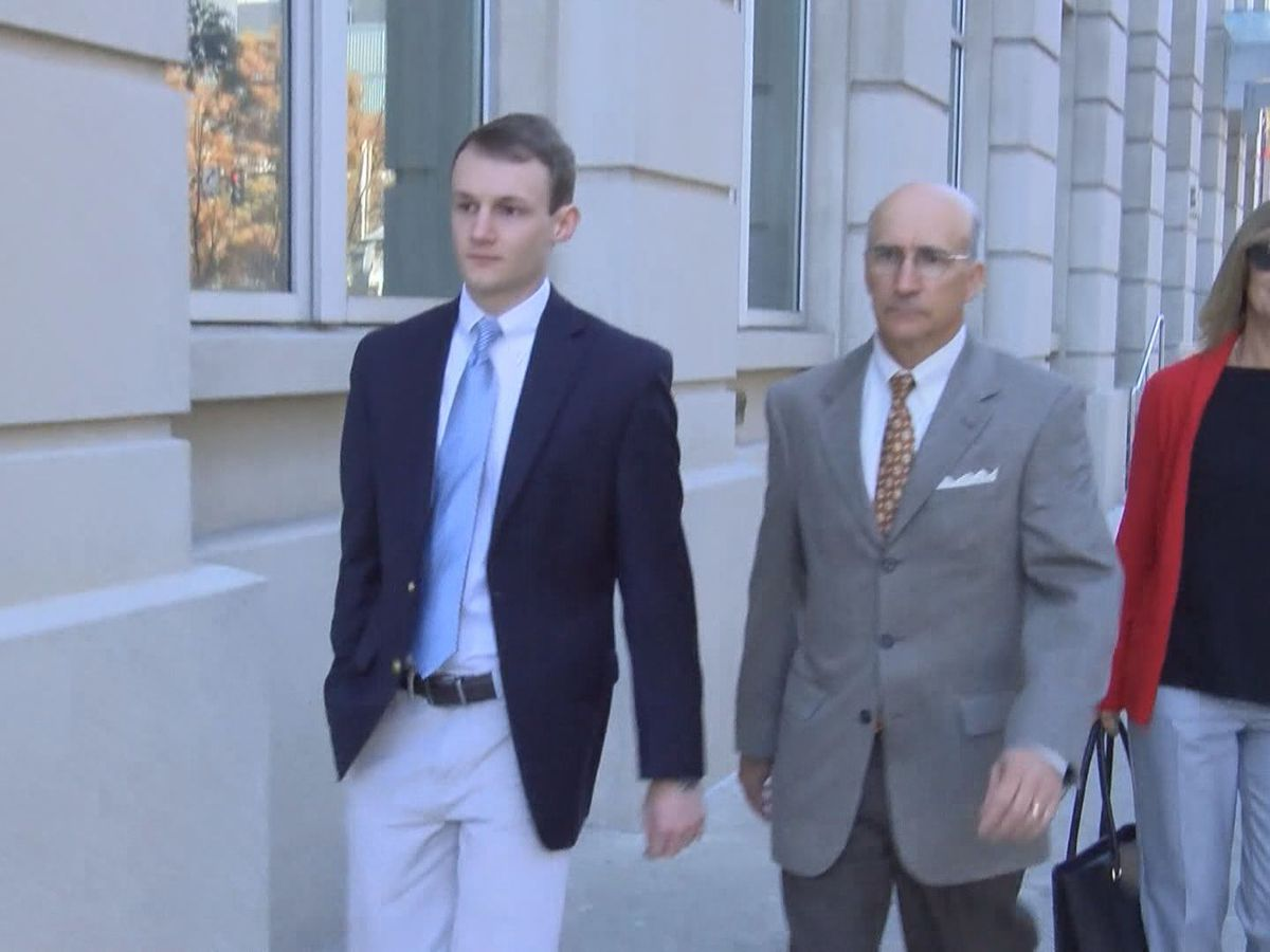 Matthew Naquin sentenced for hazing death of LSU fraternity pledge Max Gruver