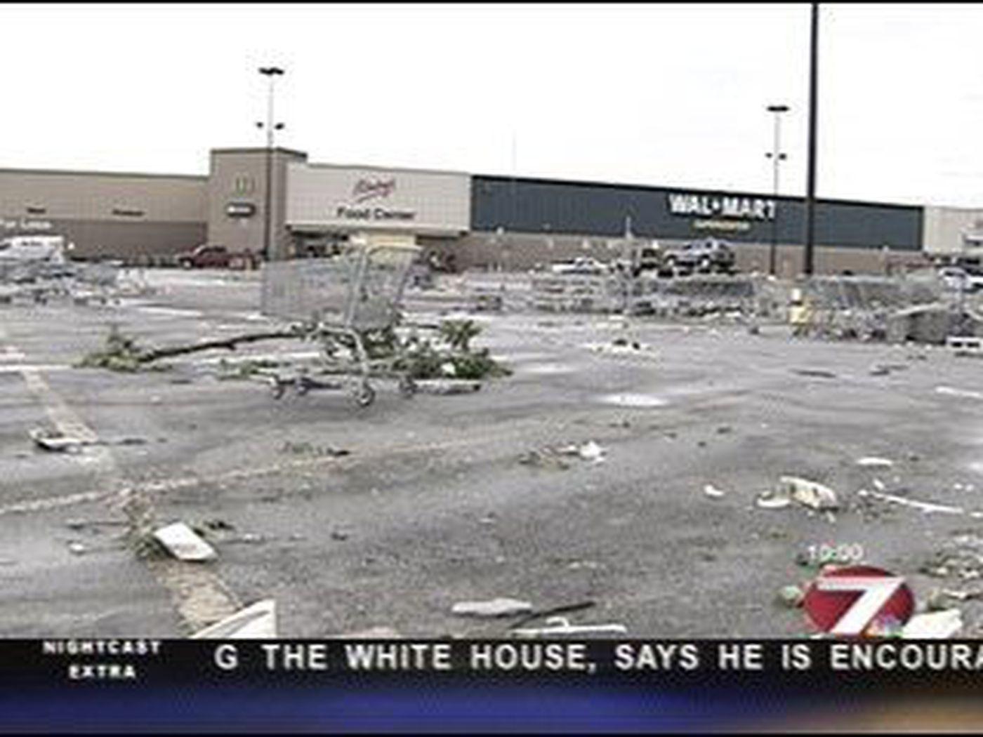 a tornado crashes through beaumont texas