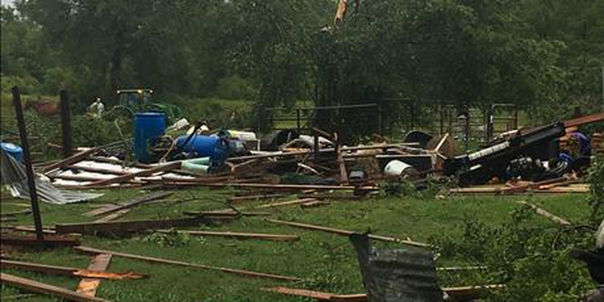Severe storms roll through overnight with damage, flooding and power outages reported