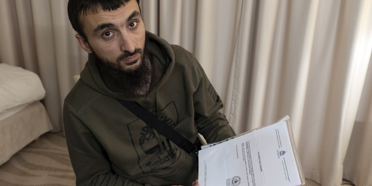 Chechen Critic Fears For His Life As He Faces Deportation