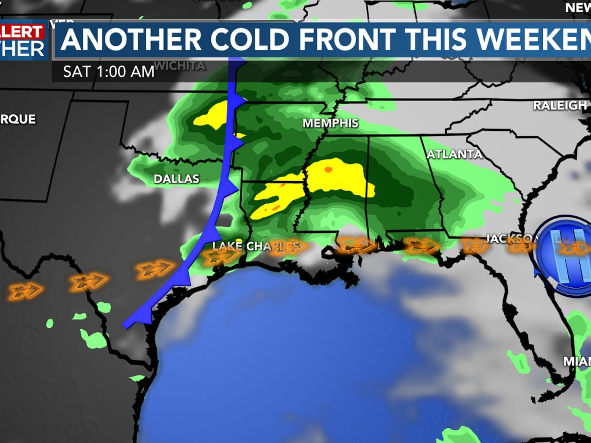 First Alert Forecast: Cool mornings ahead along with more rain too...