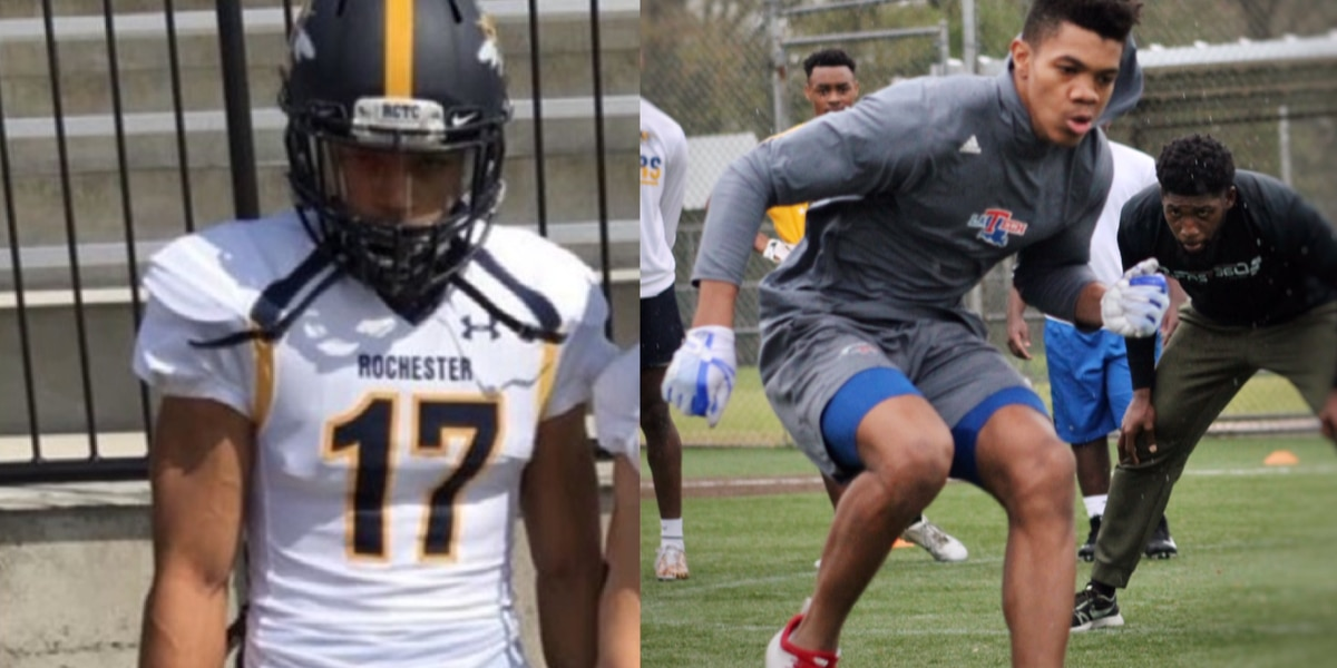 Pokes add depth to receiving corps with pair of transfers