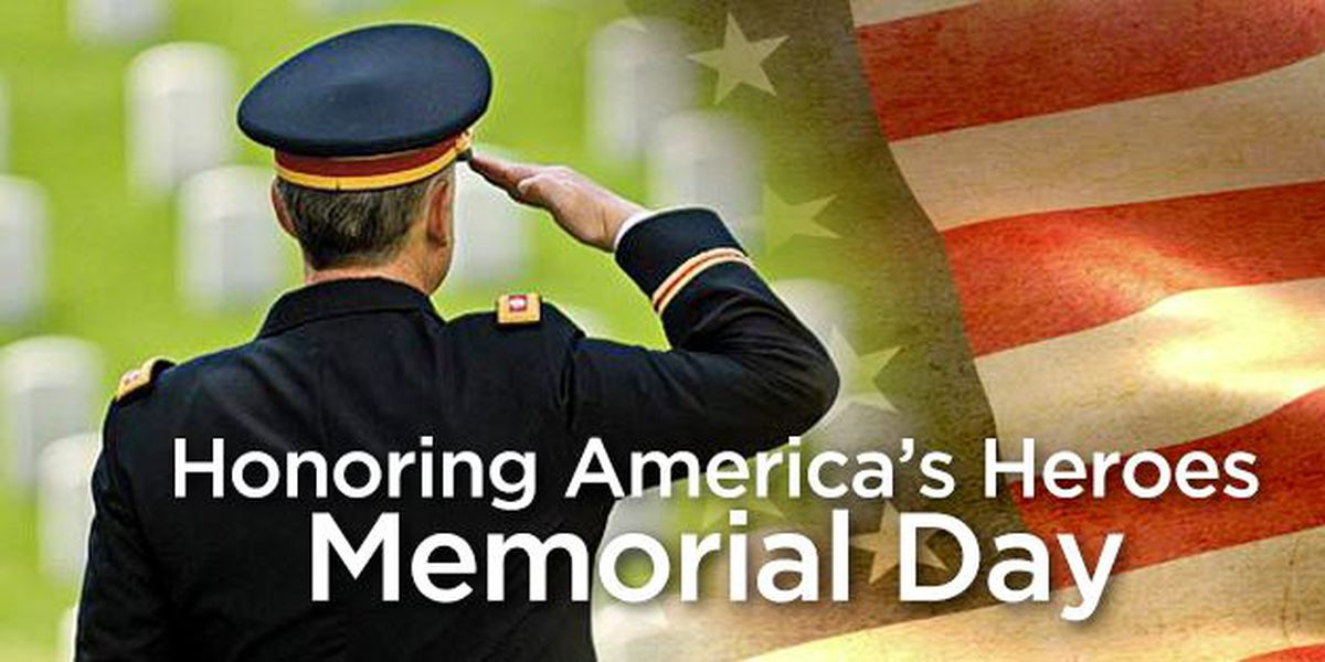 Memorial Day a time to remember those who died serving the country