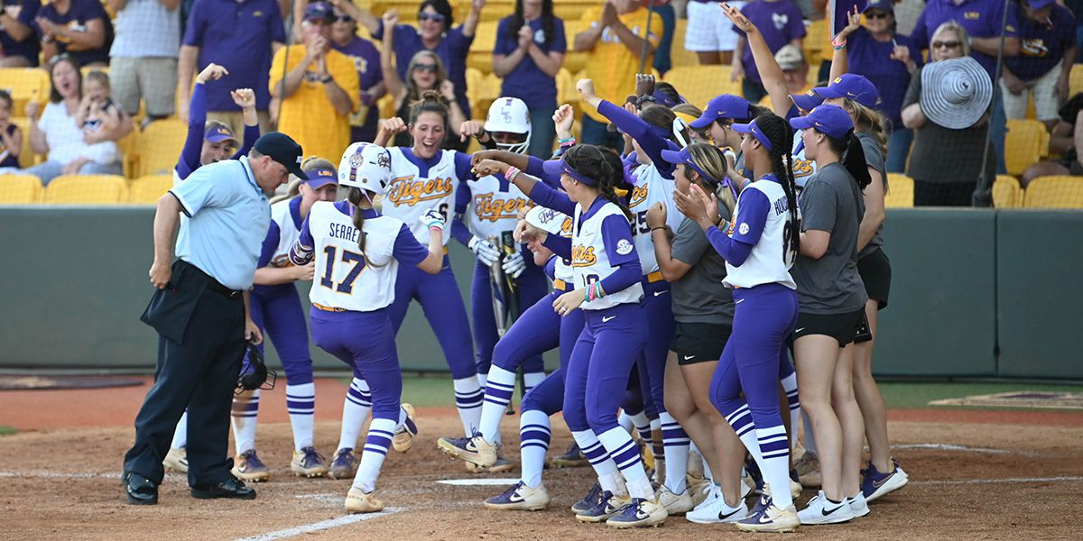 LSU softball finishes year ranked in top 10