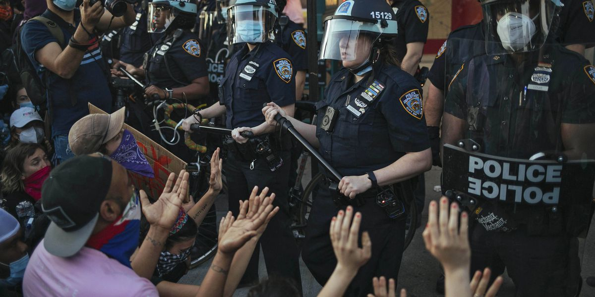NY attorney general sues NYPD over Floyd protest response