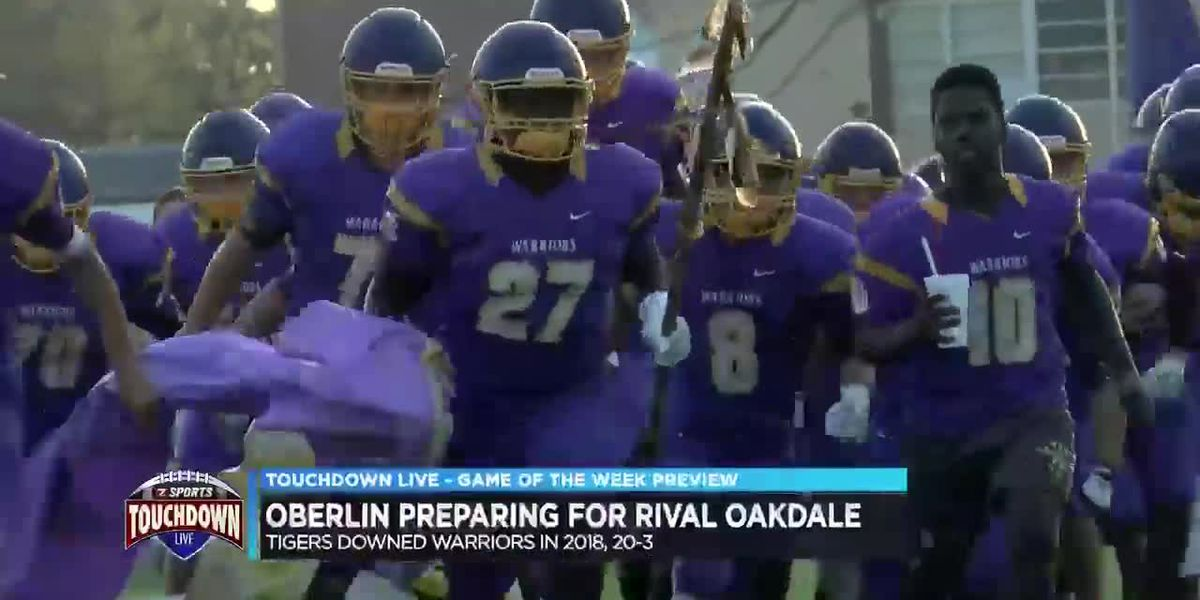 TDL Game of the Week preview - Oberlin preparing for rival Oakdale
